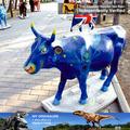 Meu dino- equipamento de parque de diversões parque de decoração vida tamanho da vaca