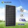 2014 year Bluesun top quality cheap price mono high voltage solar panels 300 watt