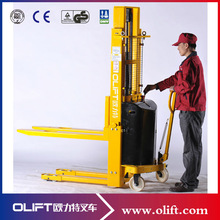 MS series semi electric pallet lifter with CE and SGS certificate