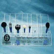 Acrylic Brush Holder,Plexiglass Cosmetic Display,Perspex Cosmetic Organize