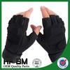 half leather gloves,new motorbike half hand gloves,breathable half finger with cap gloves in summer!