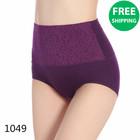 Luxury high waist lady panty underwear seamless underwear women modeling