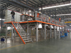 water based automatic painting machinery, paint production line