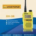 Radio portátil de tamaño mini de doble banda 99 grupos de canales de vhf/uhf 136- 174 mhz& 400- 470 mhz de mano uv-3r radio de dos vías