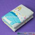100- por ciento de bebé de algodón edredones/cobijas con bordado