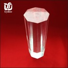 Clear Eight -Square Plexiglass Rods, Twisted Acrylic Bar