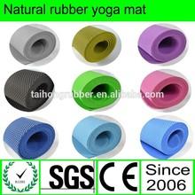 folding anti slip earthing rubber yoga mat