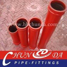 PM DN125*4.5mm*3m concrete pump hardened pipe