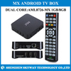 2014 manufacturer best selling amlogic mx iptv dual core full hd 1080p smart android tv box 4.2.2