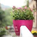 Venda quente novo estilo de plástico vasos de plantas por atacado