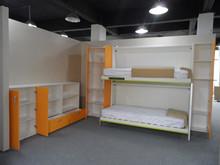 Multifunctional folding bunk beds , space saving environmental protection kids bed