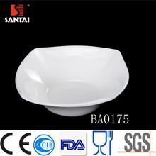 Unique Whie porcelain square dish