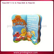 cardboard children book printing