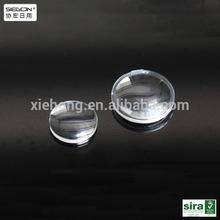acrylic biconvex lens diameter 35mm focal length 30mm or 45mm biconex lens