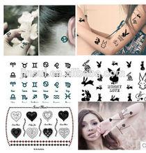 tattoo/sticker/glow in the dark sticker