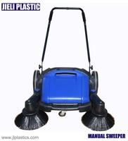 manual push street sweeper