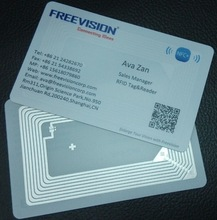 nfc business card with 4k byte biggest memory