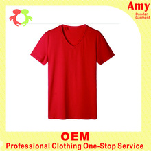 blank tshirt f used as sales promotion with v neck