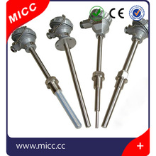k type armored thermocouple with forced tube