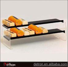 High quality customized acrylic cake shelf