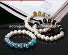 factory wholesale candy bracelet, elastic heart bracelet, plastic bracelet blanks