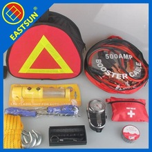 Road emergency safety kit, Car emergency first aid kit