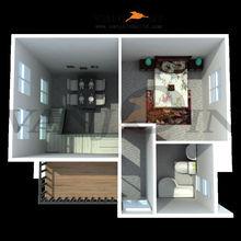 modern style sandwich panel making modular prefab house/villa