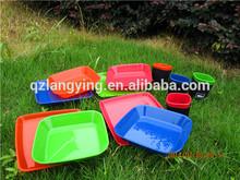 Plastic Tableware Picnic Set - BPA Free