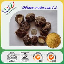 GMP factory hot sales herb supplyments Shitake mushroom extract/ 30% polysaccharides lentinus edodes mycelium extract