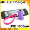 Golden Supplier Car Charger USB & 5V 1A Mini Car Charger USB