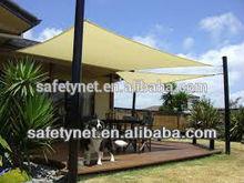 100% virgin HDPE sun shade sail with uv protection life span 3-5 years made in china sun shade sail