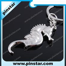Classic 3D Pendant Sea Horse Keychain Hippocampus Key Bag Ring Creative Gift Seahorse Keyring Metal