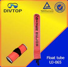 inflation buoy for diving reel