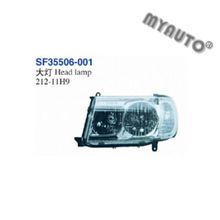 HEAD LAMP USED FOR TOYOTA LAND CRUISER FJ100 2006