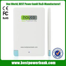 HC-K2 super slim power bank 20000mah