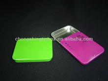 2014 New,Mini Gift Tin Box With Sliding Lid