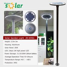 8/12 Watts Round Solar LED Light, Solar Lighitng Furniture for Courtyard/Garden