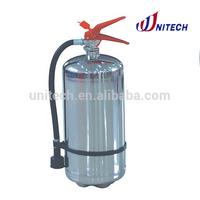 CE mark 6L Foam Water Stainless Steel Fire Extinguisher