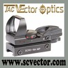 Vector Optics Imp 1x23x34 Light with 4 Kinds reticles Reticle Lock System Shock Proof Weaver Red/Green Dot Sight