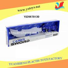 Light up delicate plastic sword toy