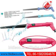 plastic material beauty salon equipment ceramic electric hair straightening comb