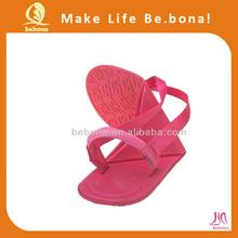 wholesale hot Summer pink fold up sandals