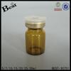 5ml round amber glass penicillin bottle, amber chemical glass bottle, pharmaceutical small glass bottle supplier