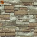 3d piedranatural papel pintado de ladrillo popular diseño de la pared revestimiento de paredes de papel