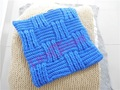 工場卸売カラフルな手のかぎ針編みのクッション