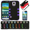 FOR SAMSUNG GALAXY S5 I9600 / G900 TUFF DUAL LAYER HYBRID HARD CASE PHONE COVER