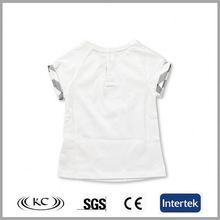 sale online austrilia 100% cotton white camo plain white baby t-shirts