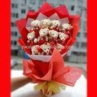 2014 hotsale wedding plush teddy bear,plush teddy bears names(AM-BW01)