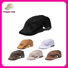cheap Cabbie Flat Cap Mens Womens Ivy Gatsby Caps Vintage Design Newsboy Hats