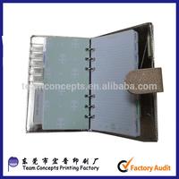 custom handmade loose leaf leather journal diary notebook